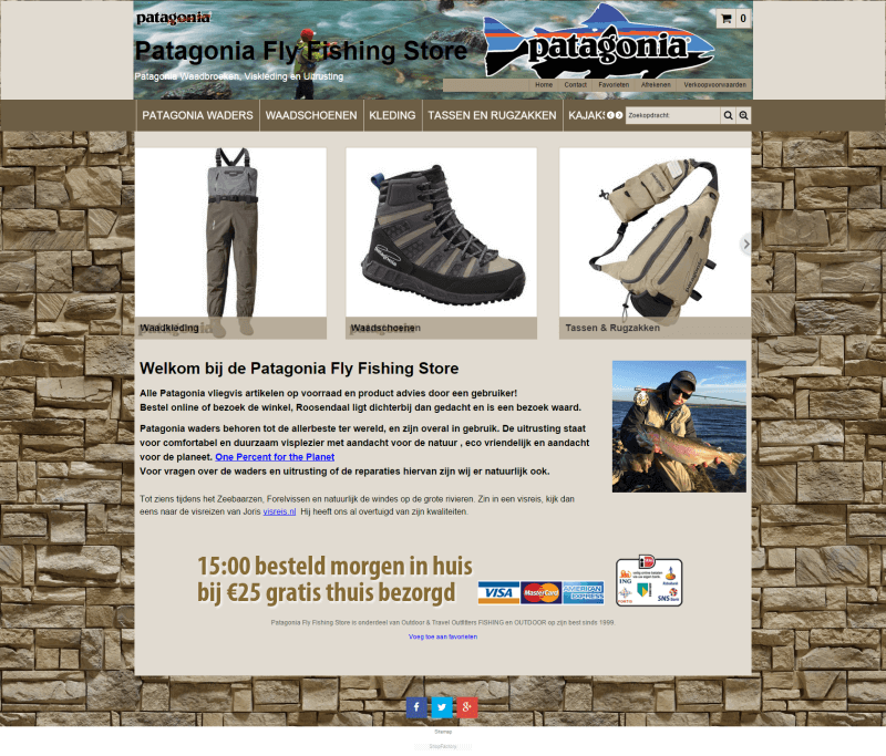 Patagonia fly fishing store for Online fishing store